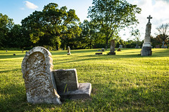 Cemetery Ridge (Wits End Photography) Tags: trees nature places missouri cemetery kirkwood burial grave gravestone graveyard headstone landscape marble outdoor plant stone tomb tree
