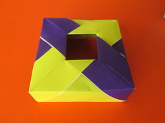 Tomoko Fuse's Unpublished Box (georigami) Tags: origami papiroflexia paper papel