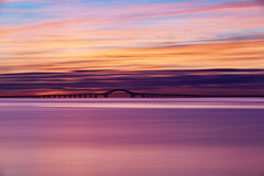 From Blue to Gold (Bob90901) Tags: blue gold bluehour goldenhour greatsouthbay longisland newyork civiltwilight summer longexposure robertmosescauseway sky clouds rpg90901 dawn canon 6d canonef70200mmf28lisiiusm canon70200f28lll filter neutraldensity lee bigstopper nd10 nd bridge bay water morning bergenpoint westbabylon 2016 september 0620