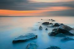 Before sunrise (PhotoChampions) Tags: sunrise sonnenaufgang balticsea ostsee timmendorferstrand ocean meer rocks felsen water wasser seascape landschaft shoreline seaside