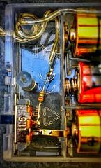 #macromonday old school #insideelectronics (india_snaps) Tags: lights macromonday insideelectronics