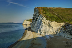 just up from durdle door (kapper22) Tags: durdle door blue green yellow outdoor sunny hot summer july