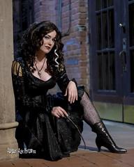 IMG_7463 (Atomic Age Pictures) Tags: bellatrixlestrange harrypotter cosplay pinup pinupgirls pinups stockings heels heelsstockings