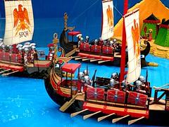 SPQR (camus agp) Tags: juquetes exposicion playmobil barcos