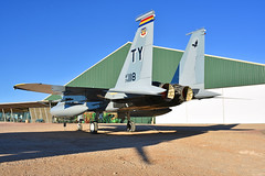 "McDonnell Douglas F-15A Eagle (Andrew ""MuseumAndy"" Boehly) Tags: aircraft airplanes museum aviation arizona pimaairandspacemuseum pasm"