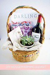 Basket Gifts : How to: Make the Perfect DIY Housewarming Basket » Curbly | DIY Design Communit… (giftsmaps.com) Tags: gifts
