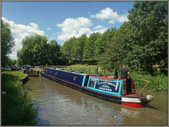 BOOTES (Jason 87030) Tags: bootes dodford braunston cut canal june summer 2018 local lock guc grandunioncanal blue boat narrowboat barge vessel craft trees scene uk england water waterside canalside towpath 5 english sony alpha a6000 lens tag ilce color colout great shot shoot session