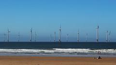 Turbines (oddbodd13) Tags: redcar teesside beach coast shore sea seaside seascape sand windfarm turbine wind windmill renewable energy maritime