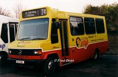 Bus Eireann ML18 (94D1018). (Fred Dean Jnr) Tags: buseireann waterford mercedesbenz december1997 709d leicestercarriageworks waterforddepot ml18 94d1018 imp dublinbuscityimplivery