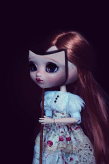 Mascarade (Zorha Nightwood) Tags: doll pullip groove junplanning obitsu fullcustom wig photoshop olympus