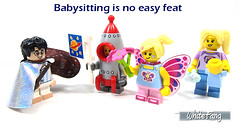 Babysitting is no easy feat (WhiteFang (Eurobricks)) Tags: lego collectable minifigures series city town space castle medieval ancient god myth minifig distribution ninja history cmfs sports hobby medical animal pet occupation costume pirates maiden batman licensed dance disco service food hospital child children knights battle farm hero paris sparta historic brick kingdom party birthday fantasy dragon fabuland circus people photo magic wizard harry potter jk rowling movies blockbuster sequels newt beasts animals train characters professor school university rare