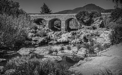 Roman Bridge. (CWhatPhotos) Tags: cwhatphotos photographs photograph pics pictures pic picture image images foto fotos photography artistic that have which contain olympus camera holiday holidays hols hol june 2018 ibizan ibiza santaeulariadesriu santa eularia east eastern bridge cross crossing old roman arch archway archways stone built