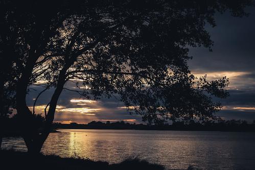 sunset Swords Estuary