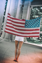 Showing Her Colors (Luv Duck - Thanks for 13M Views!) Tags: select ali usa usflag cutoffs beautifulgirl beautifulbody longlegs denvermodel columns downtowndenver 4thofjuly independenceday patriotic americanflag americangirl allamericangirl