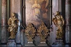 Prag-St.Nikolaus 3 (fotomänni) Tags: prag praha prague kirche church eglise stnikolaus sakralfotografie sakralekunst skulptur skulpturen sculpture manfredweis