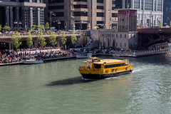 Water Taxi (string_bass_dave) Tags: chicago watertaxi illinois boat chicagoriver flickr il unitedstates us