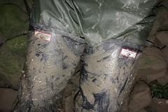 A hard night's work (essex_mud_explorer) Tags: hunter gates uniroyal coarsefisher black rubber thigh waders boots cuissardes watstiefel gummistiefel rubberlaarzen matsch schlamm boue mud muddy wading