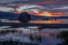 Early July Mono Lake Sunset (Jeffrey Sullivan) Tags: sunset lake mono south tufa state natural reserve rock formations calcium carbonate salty county eastern sierra california usa canon eos 6d dslr photo copyright 2018 jeff sullivan july photomatix hdr