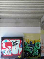 Quatch & Malf / Franse Vaart - 14 jul 2018 (Ferdinand 'Ferre' Feys) Tags: gent ghent gand belgium belgique belgië streetart artdelarue graffitiart graffiti graff urbanart urbanarte arteurbano ferdinandfeys