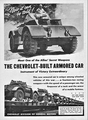 1944 Chevrolet Armored Car (aldenjewell) Tags: 1944 chevrolet armored car truck ad