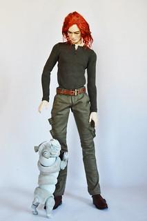Winnie 1/4 scale BJD English Bulldog https://emperis.co.uk/emperis-shop/