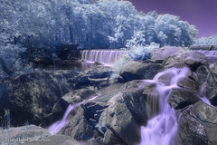 1-watermark (Brian M Hale) Tags: blackstone gorge outside outdoors nature water fall falls waterfall long exposure breakthrough photography filters filter rocky rock rocks trees foliage ir infrared infra red 590nm 590 newengland new england usa brian hale brianhalephoto analogous colors