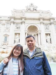 特萊維噴泉 Fontana di Trevi   Roma, Italy (sonic010739) Tags: olympus omd em5markii olympusmzdigital1240mm roma italy