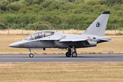 Italian AF T-346A (joolsgriff) Tags: aermacchi leonardo m346 t346a mm55220 6116 italianairforce aeronauticamilitare riat riat2018 raffairford royalinternationalairtattoo