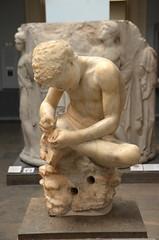 Thorn-puller (afagen) Tags: london england uk unitedkingdom greatbritain camden bloomsbury britishmuseum museum spinario sculpture