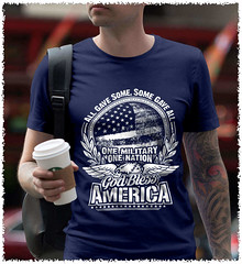 All Gave Some, Some Gave All. God Bless America. White Print. Gildan Ultra Cotton T-Shirt. Navy.  | Loyal Nine Apparel (LoyalNineApparel) Tags: 2ndamendment 3 america army ccw concealedcarry constitution defendthesecond firearms gunfanatics gunlife gunsdaily gunslifestyle igmilitia instagood libtards livefreeordie loyalnineapparel loyalnineclothes maga marines mensfashion menstyle murica pewpewpew rifle shallnotbeinfringed thegunlife thepewpewlife usa