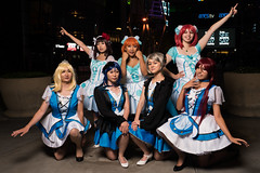 4 + 3 (asiantango) Tags: animeconvention animeexpo california celebrationevent centralcity cosplayseries item jwhotel lalive losangelescounty losangeleslive lovelive night nightphotography object out outdoor outdoors outside outsides time