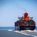 Shipping Boat at Sea