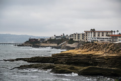 Sunset Cliffs (benakersphoto) Tags: california ocean clouds cloudy water cliff edge sunsetcliffs landscape landscapephotography seascape waves wave nikon nikkor america city colorful air summer fog new flickr colours outdoors usa