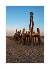 Jetty with shadows (prendergasttony) Tags: jetty seascape sky water wood sand nikon d7200 pier tonyprendergast ocean beach shadow