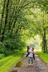 Carried Through the Woods (8bearingsphoto) Tags: rain colorful l 6d asian couple