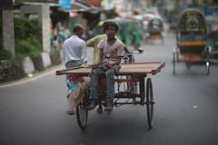 It Was Kind Of A Wow Moment (N A Y E E M) Tags: boy people rickshawvan afternoon colors street norahmedroad chittagong bangladesh windshield sooc