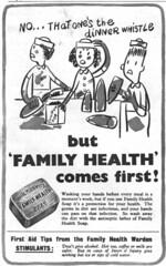John Knights FAMILY HEALTH Soap (OldAdMan) Tags: soap bar wartime secondworldwar oldadman old vintage advertisements adverts posters
