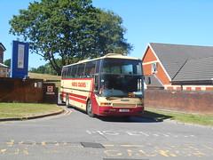Harris Coaches (Pengam) RIB 8431 (Welsh Bus 18) Tags: harriscoaches volvo b10m62 berkhof excellence rib8431 ystradmynach osullivan n205vrx