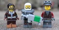 Fallout Minifigures (spud_the_viking) Tags: lego minifigs minifigures nuka cola moc custom figbarf