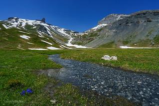 Ambiance printanière sur le plateau d'Euloi (Switzerland)