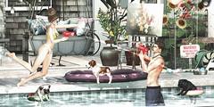 Fun in the pool!! (IgorAlmeida BlackBart) Tags: jian modulus mancave menonlymonthly galvanized badunicorn ionic summerfest summerfest18 peaches