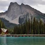 Mount Burgess as a Magnificent Backdrop for Emerald Lake (Yoho National Park) thumbnail