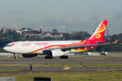 Hianan Airlines Airbus A330 (Daniel Talbot) Tags: a332 airbus airbusa330200 australia b6116 hainanairlines holidays sydney2018 aircraft airplane airplanes aviation maker oceania plane transportation