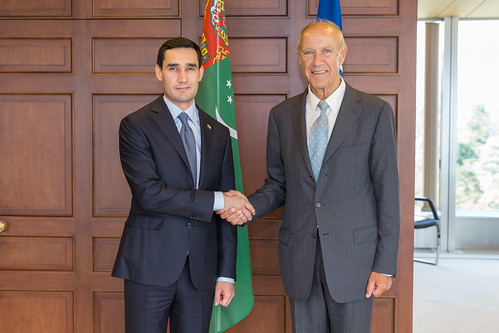 WIPO Director General Meets Turkmenistan Deputy Minister for Foreign Affairs