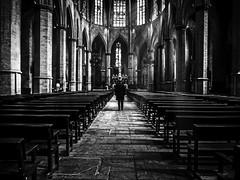 In search of answers (muntsa-joan-BW) Tags: blackandwhite bw bnw church street streetphoto streetphotography architecture iglesia arquitectura