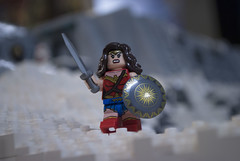 Wonder Woman (Ben Cossy) Tags: wonder woman dc dceu super hero comic comicbook moc afol tfol diana prince ww1 wwi snow ice minifigure minifig
