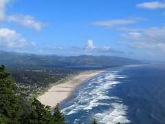 Manzanita (altfelix11) Tags: oregon highway101 us101 beach pacificocean manzanita neahkaniemountain overlook sky ushighway101 route101 nehalembay