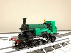 WIP (Britishbricks) Tags: 422 stirling gnr engine train steam lego