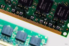 A Fading Memory (markjones bris) Tags: macromonday insideelectronics macro electronics