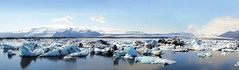 panoramica Laguna Jokulsarlon en el glaciar Vatnajokull Islandia 01 (Rafael Gomez - http://micamara.es) Tags: panoramica laguna jokulsarlon en el glaciar vatnajokull islandia jökulsárlón ring road glacier lagoon vatnajökull icebergs lake iceland